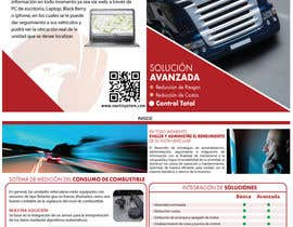 #31 for Brochure Design for Telematic Fleet Management System Company af ManuelSabatino