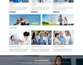 #1 para Design a Website Mockup for a Clinic por cdesigneu