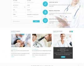 #2 para Design a Website Mockup for a Clinic por cdesigneu