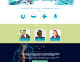 #6 para Design a Website Mockup for a Clinic por graphicain