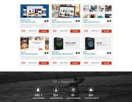 #30 para Design a Website Mockup for appkodes.com de nikil02an
