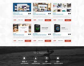 #31 för Design a Website Mockup for appkodes.com av nikil02an