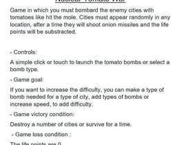 Nro 14 kilpailuun Suggest a concept for a politics-themed mobile game käyttäjältä EdgardoRuiz1