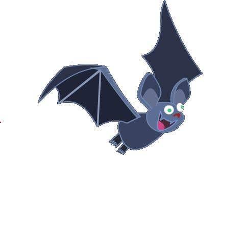 Contest Entry #                                        14                                      for                                         2D fly animation Batt + 2D die animation virus.