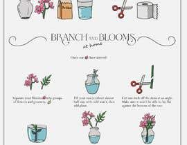 #24 для Flower Shop DIY at Home Instruction Sheet Drawing от geneblazaart
