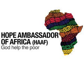 #14 für Design a Logo for Hope Ambassador of Africa Foundation von sakhn