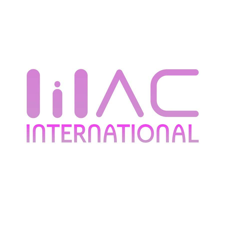 """Kilpailutyö #                                        124                                      kilpailussa                                         Company working in health services  Name : Lilac international  Colors of logo to have """"lilac"""" color"""