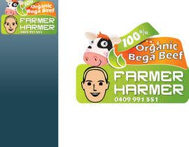#14 cho Logo Design for Farmer Harmer Grass Fed Beef bởi rjanu