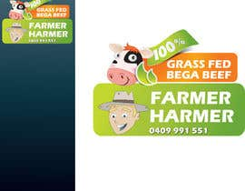 nº 25 pour Logo Design for Farmer Harmer Grass Fed Beef par rjanu