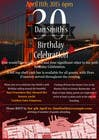 Design a 30th Birthday Invite için Graphic Design39 No.lu Yarışma Girdisi