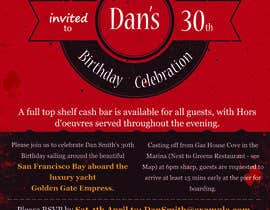 #71 for Design a 30th Birthday Invite by fastidea
