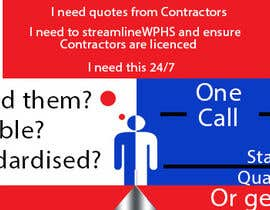 #4 for Banner Ad Design for Contracted af tedatkinson123