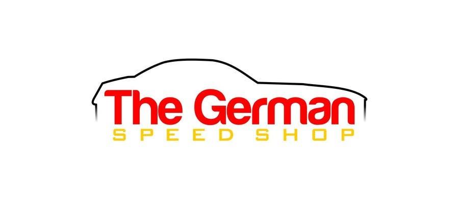 Inscrição nº 6 do Concurso para Logo design for the, German speed shop