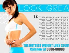 #30 untuk Advertisement Design for weight loss oleh amitpadal
