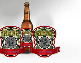 #14 cho Beer Label - Army Military Theme bởi tiagogoncalves96