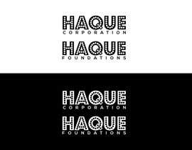 """#131 for Need two logo for two different organisations. One is """"Haque Corporation"""" which is a holding company of different companies.  Another one is """"Haque Foundations"""" which is a non profit organisation to support different good cause. by MATLAB03"""