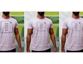 #78 para design t-shirt templates for personalized text shirts de ivetpro1002