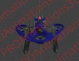 Nro 26 kilpailuun Drone for cargo/military appliances käyttäjältä PROAnimations3D