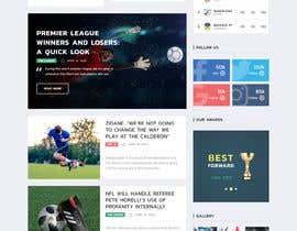 #2 для Buil auto news sports website від hashamahmed29