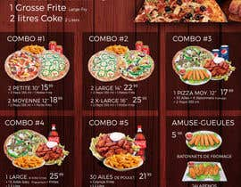 #9 untuk Design a menu for a resturant oleh kavacreation