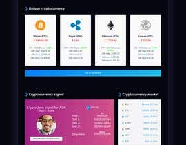 #6 cho Website design- informative site, Top 5 recommended Crypto, stocks, trading platforms bởi webdeveloperAlal