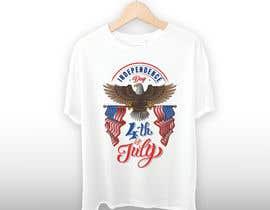Sidra9027님에 의한 Need a printable vector t-shirt design for 4th of July holiday을(를) 위한 #33