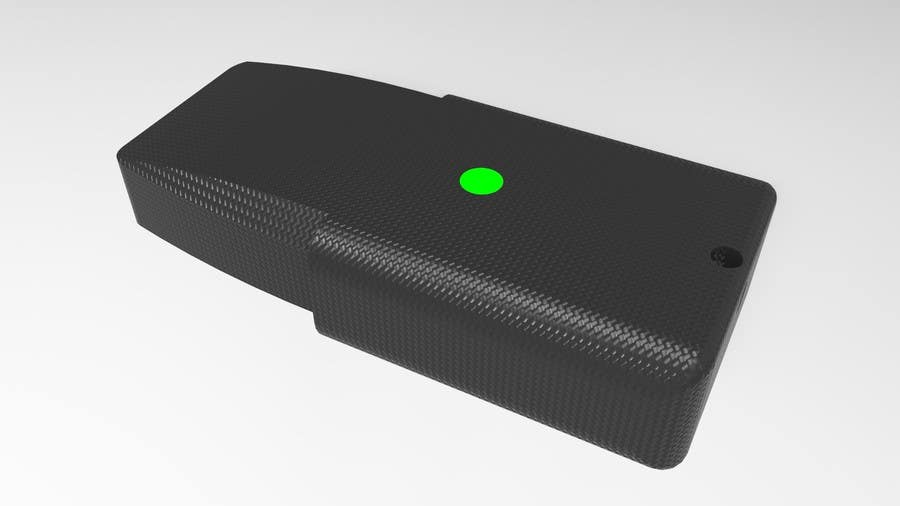 Contest Entry #2 for 3D Design of USB Thumb Drive Enclosure