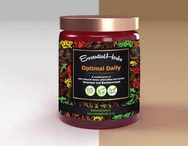 #23 for Design Product Label for a Jar (Herbal Company) by adesigngr