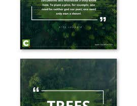 #27 for Design a Template for Nature Memes by Rameezraja8