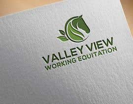 #8 for Valley view working equitation  needs a logo. VVE is the aim so the Vs become the w also. We love the gold horse design but need ears facing forward so happy horse. Club colours are emerald gold, navy and silver. by mnahidabe
