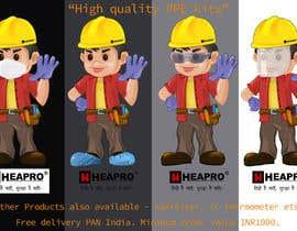 #6 for Heapro PPE Kit - 23/05/2020 06:16 EDT by lakshayjeet