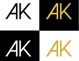 #53 for I need a simple and elegant looking logo that consists only of my initials by RIakash