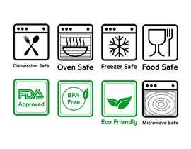 #2 for Create 8 food safe symbols for packaging by Montserelhag