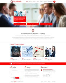 #26 cho Design a Website for Actegy Consulting bởi kreativeminds