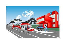 #5 for Illustration for a theme:  Hospital Jets Crashing by pgaak2