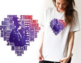 #35 für Word cloud tee shirt design von arafat123456
