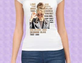 #17 für Word cloud tee shirt design von Madhu42