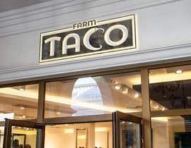 #164 untuk Farm Taco Logo oleh royatoshi1993