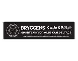 Nro 8 kilpailuun 2 big banners for kayakpolo käyttäjältä akibmilon