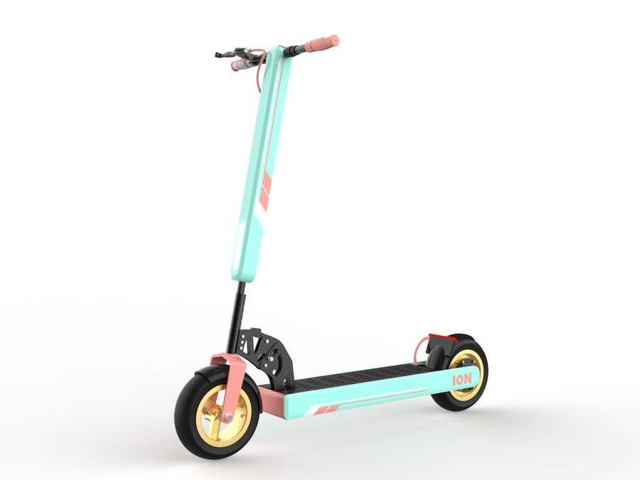 Конкурсная заявка №                                        56                                      для                                         Branding E-Scooter