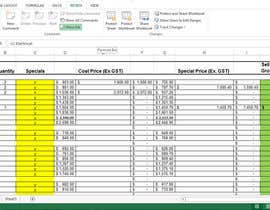 #14 for excel spread sheet by mabbasalee