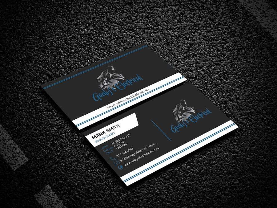 Конкурсная заявка №                                        289                                      для                                         Electrical Business Card