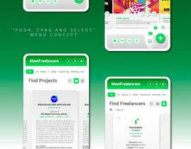 Nro 57 kilpailuun Web App UI UX makeover käyttäjältä mishellcuevas
