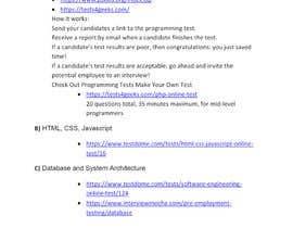 #9 pentru E-com / Marketplace - How do we verify certain skills in our recruitment process? de către themeristem