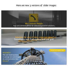 #6 for Design Slider for Website by goranjokanovic