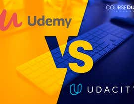 #24 for Banner Design for Blog Page (Udemy vs Coursera) - CourseDuck.com by ABARUN