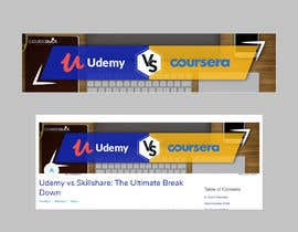 #20 for Banner Design for Blog Page (Udemy vs Coursera) - CourseDuck.com by Rafi567