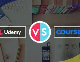 #27 for Banner Design for Blog Page (Udemy vs Coursera) - CourseDuck.com by Rafi567