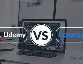 #29 for Banner Design for Blog Page (Udemy vs Coursera) - CourseDuck.com by Rafi567