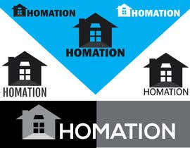 "#780 для ""Homation""Visual Identity System VIS от SAsarkar"